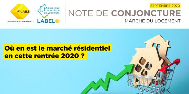 Où en est le marché résidentiel en cette rentrée 2020 ?