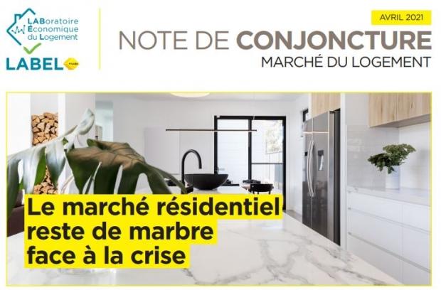 Le marché résidentiel reste de marbre face à la crise
