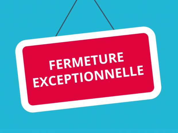 FERMETURES DE FIN D'ANNEE